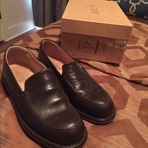 J Crew Men's Brown Leather Loafers